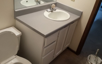 Epoxy cabinet countertop project_10