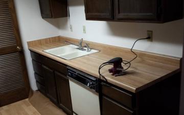 Epoxy cabinet countertop project