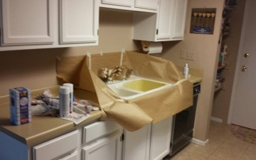 Porcelain Sinks, Tub, and, Tile, REFINISH job_12
