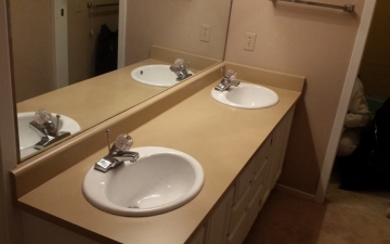 Porcelain Sinks, Tub, and, Tile, REFINISH job_8